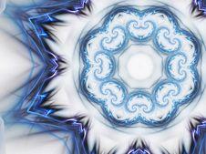 Free Electric Current Wheel, Mandala Shape Stock Photo - 27637530
