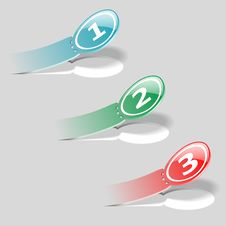Free Options Sticker Labels Royalty Free Stock Photography - 27638977