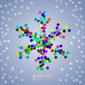 Free Christmas Confetti Snowflake Background Stock Images - 27642104