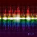 Free Rainbow Equalizer  Background Stock Images - 27642304