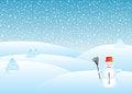 Free Snowy Landscape Stock Image - 27645061