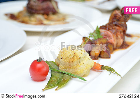 Free Food Presentation Stock Images - 27642124