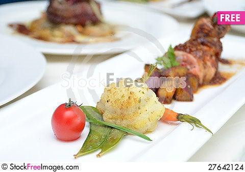 Free Food Presentation Stock Images - 27642124