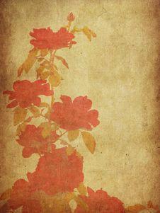 Free Vintage Roses Royalty Free Stock Image - 27640586