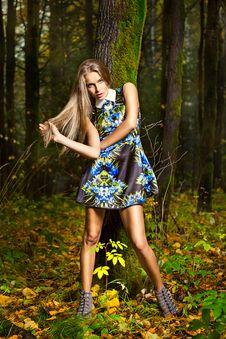 Free Fashion Portrait Of Young Beautiful Woman Stock Image - 27641861