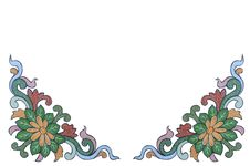 Free Chinese Vintage Pattern Isolate Background Royalty Free Stock Photography - 27645487