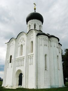 Free Church Of The Intercession On The Nerl Stock Images - 27646594