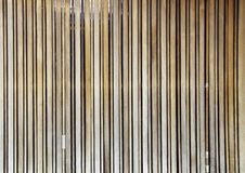 Natural Wooden Battens Stock Photography