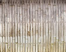 Free Old Bamboo Texture Royalty Free Stock Photo - 27649995