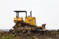 Free Bulldozer In Construction Site Royalty Free Stock Photos - 27655958