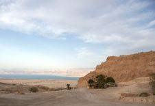 Free Masada Fortress And Dead Sea Stock Photos - 27652293
