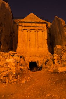Free Ancient Monument In Jerusalem Royalty Free Stock Photo - 27652355