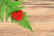 Free Red Heart Stock Image - 27654951