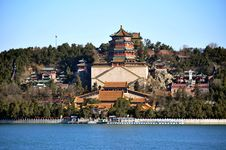 Free The Summer Palace Of Buddhist Incense Pavilion Stock Images - 27655014