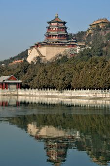 Free The Summer Palace Of Buddhist Incense Pavilion Royalty Free Stock Image - 27655056