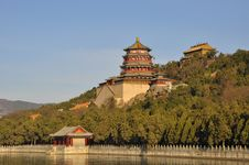 Free The Summer Palace Of Buddhist Incense Pavilion Royalty Free Stock Photography - 27655077