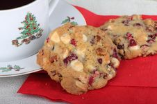 Free Cranberry Cookies Stock Image - 27657451