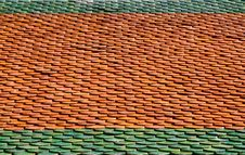 Free Tiled Roof Royalty Free Stock Photo - 27657905
