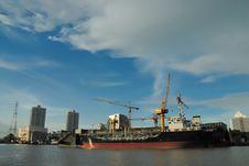 Free Shipyard Stock Images - 27658134