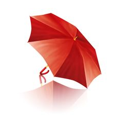 Free Red Umbrella Royalty Free Stock Image - 27658556