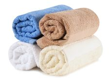 Free Bath Towels. Stock Image - 27658891