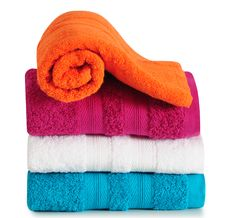 Free Bath Towels. Stock Photo - 27658920