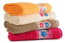 Free Bath Towels. Royalty Free Stock Image - 27658956