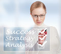 Free Concept Of Success And Business Woman Stock Image - 27661841