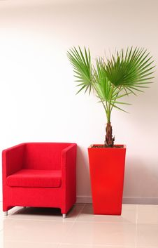 Free Red Seat. Royalty Free Stock Photography - 27660387