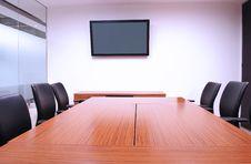 Free Boardroom. Royalty Free Stock Photos - 27660398