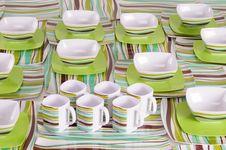 Free Dish Ware. Stock Photos - 27660473
