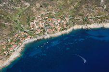 Free Elba Island-Chiessi Town Royalty Free Stock Image - 27660986