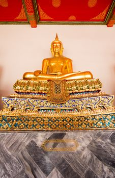 Free Buddha Statue Of Thailand Stock Photos - 27662173