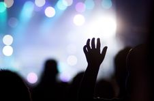 Free Crowd At Concert Stock Photo - 27664970