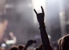Free Crowd At Concert Stock Image - 27664981