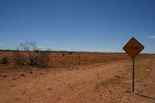 Free Arid Australian Outback Royalty Free Stock Photography - 27665277