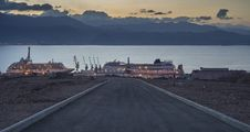 Free Marine Port Of Eilat, Israel Stock Photo - 27665360