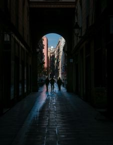 Streets Of Seville Spain Royalty Free Stock Image