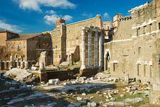 Free Forum Of Augustus In Rome Stock Image - 27668201