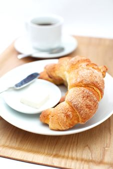 Free Croissants Royalty Free Stock Images - 27668549