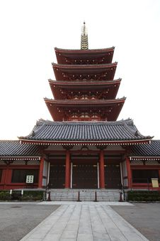 Asakusa Temple Stock Photo