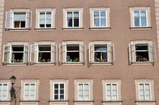 Free Windows Of Salzburg Stock Photos - 27668593