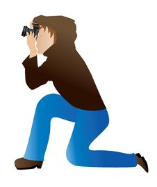 Free Photographer Icon Royalty Free Stock Photo - 27668945