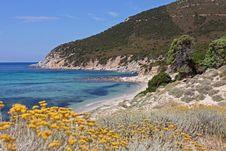 Free A Beautiful Beach In Villasimius, Sardinia Stock Photo - 27670530