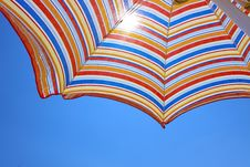 Free Beach Umbrella Stock Images - 27670734