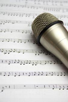 Free Microphone Stock Image - 27670901