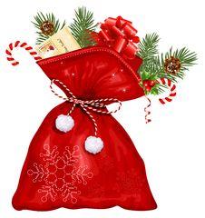 Free Christmas Sack With Presents Stock Photos - 27671873
