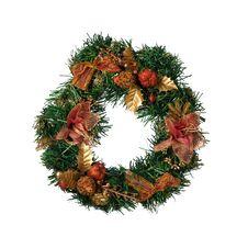 Free Christmas Wreath Stock Image - 27672561