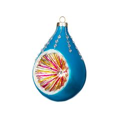 Free Christmas Blue Bauble Royalty Free Stock Images - 27672569