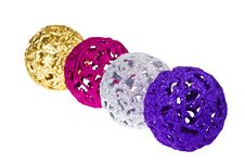 Free Baubles For Christmas Firtree Royalty Free Stock Photo - 27674445